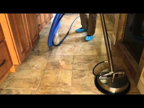 Video Thumbnail For Youtube Video Tile Grout Cleaning